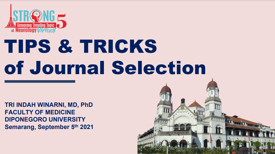 Tips and Tricks of Journal Selection